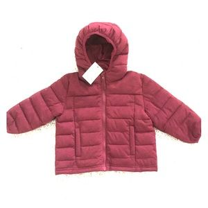 Other - NWT! BN TECH SPORT Girl's Jacket in Burgundy - 24M
